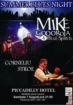 Concert Mike Godoroja & Blue Spirit şi Corneliu Stroe la Hotel Piccadilly din Mamaia