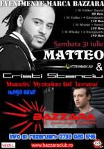 Concert Matteo şi Cristi Stanciu la Bazzara Club din Arad