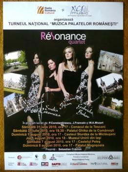 """Turneului Naţional """"Muzica Palatelor Româneşti"""" 2010"""