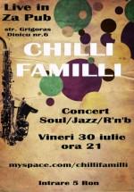 Concert Chilli Familli la Za Pub din Braşov