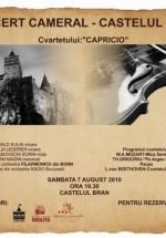 Concert Cameral la Castelul Bran din Bran
