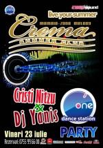 Cristi Nitzu & DJ Yanis la Crema Summer Club din Mamaia