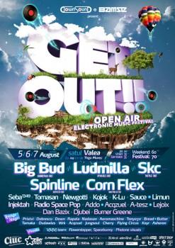 Get Out! Open Air Festival 2010 la Târgu Mureş
