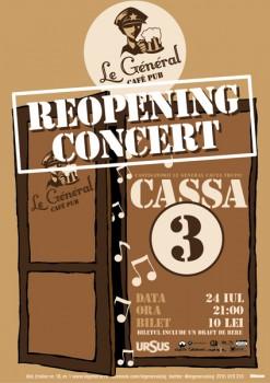Reopening Concert la Ce? Pub din Cluj-Napoca