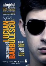 Lucian Barbulescu în Club Vision din Neptun