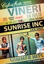 Concert Sunrise Inc la Cafe Del Mar din Constanţa