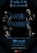 Metal Revolution la Casa de Cultură a Sindicatelor din Piatra Neamţ