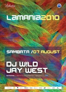 Dj W!ild & Jay West în La Mania din Mamaia