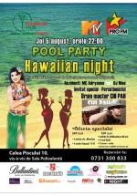 Hawaiian Night Pool Party la Daimon Club din Bucureşti