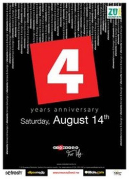 4 Years Anniversary la Club Elements din Bucureşti