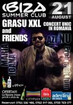 Concert Grasu XXL la Ibiza Summer Club din Constanţa