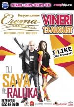 DJ Sava & Raluka la Crema Summer Club din Mamaia