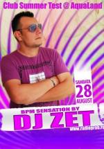 DJ Zet la Aqua Club din Focşani