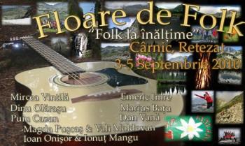 Festivalul Floare de Folk 2010 la Cârnic