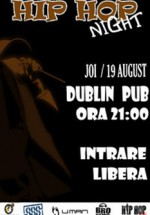 Hip-Hop Night la Dublin Pub din Iaşi