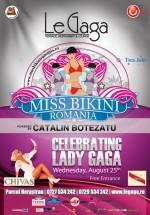 Miss Bikini România în Le Gaga Terrace & Lounge din Bucureşti