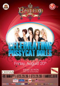 Petrecere Pussycat Dolls în Club Bamboo din Mamaia