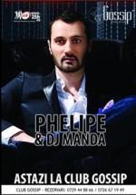 Phelipe & DJ Manda în Club Gossip din Costineşti