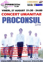 Concert Umanitar în Club Freedom din Roman
