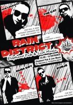 Concert Rain District în Elephant Pub din Bucureşti