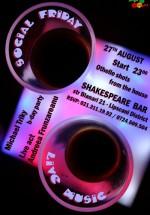 Social Friday la Shakespeare Bar din Bucureşti
