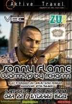 Concert Sonny Flame în Club Principe din Bacău