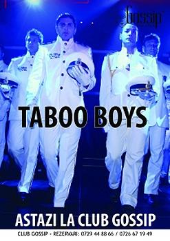 Taboo Boys în Club Gossip din Costineşti