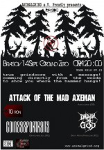 Concert The Attack Of The Mad Axeman în Club Ground Zero din Braşov