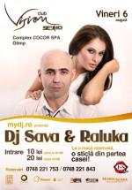 Concert DJ Sava & Raluka în Club Vision din Neptun