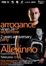 Alexinno în Club Arrogance din Bals