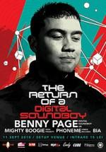 Benny Page la Setup Venue din Timişoara