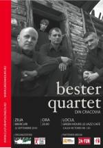 Concert Bester Quartet la Green Hours din Bucureşti
