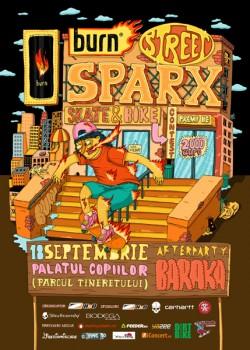 Burn Street Sparx în Parcul Tineretului din Bucureşti