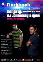 DJ Jonnessey & Aner feat Dj Waren în Club Flashback Live din Cluj-Napoca