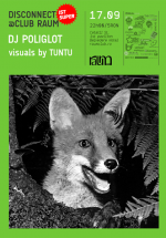 DJ Poliglot la Club Raum din Cluj-Napoca