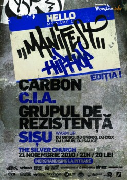 Hip Hop Maraton Ed 1 la The Silver Church din Bucureşti