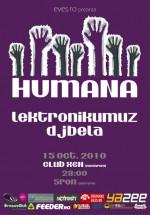Humana în Club Xen din Braşov