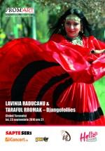 Concert Lavinia Raducanu & Taraful Rromak la Clubul Ţăranului din Bucureşti
