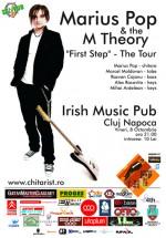 Concert Marius Pop & The M Theory la Irish & Music Pub din Cluj-Napoca