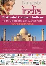 Namaste India la Bucureşti
