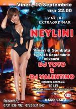Concert Neylini în Club Daso Cado din Târgovişte