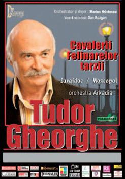 Concert Tudor Gheorghe la Casa de Cultură a Sindicatelor din Botoşani