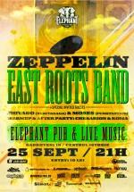 Concert Zeppelin şi East Roots Band în Elephant Pub din Bucureşti