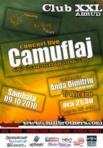 Concert Camuflaj la Club XXL din Abrud