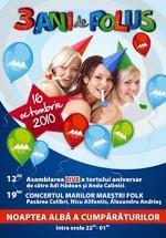 3 Ani de Polus Center din Cluj-Napoca