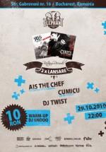 Lansare album Ais The Chef şi Cumicu la Elephant Pub din Bucureşti