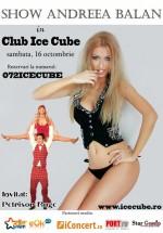 Andreea Bălan şi Petrisor Ruge la Club Ice Cube din Breaza