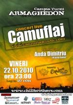 Concert Camuflaj la Armaghedon din Câmpia Turzii