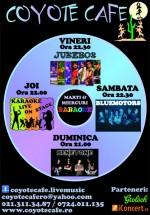 Concerte Jukebox & BlueMotors la Coyote Cafe din Bucureşti