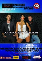 DJ Project & Giulia la Blue Night Club din Bucureşti